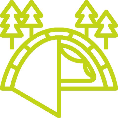 Ruunaan retkeilykeskus - Majoitus