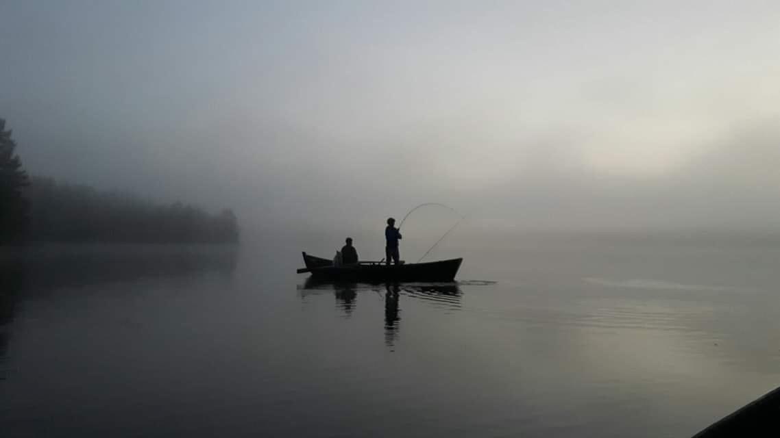 Ruunaan retkeilykeskus kalastus