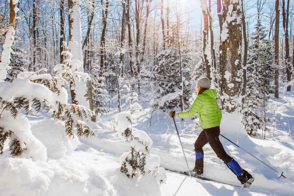 Ruunaan retkeilykeskus talvi aktiviteetit hiihto