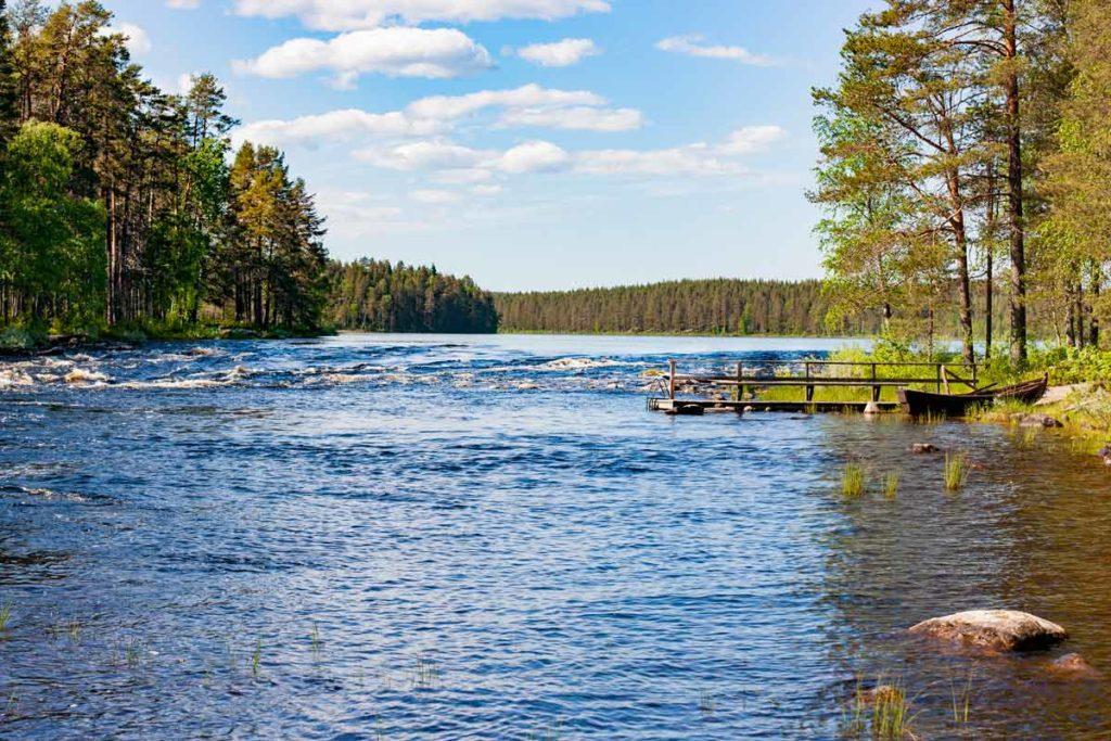 Ruunaan retkeilykeskus Kattilakoski - kalastus