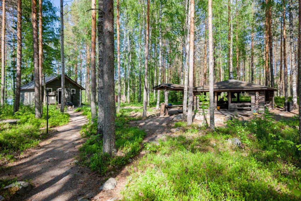 Ruunaan retkeilykeskus Kattilakoski - kokouskämppä