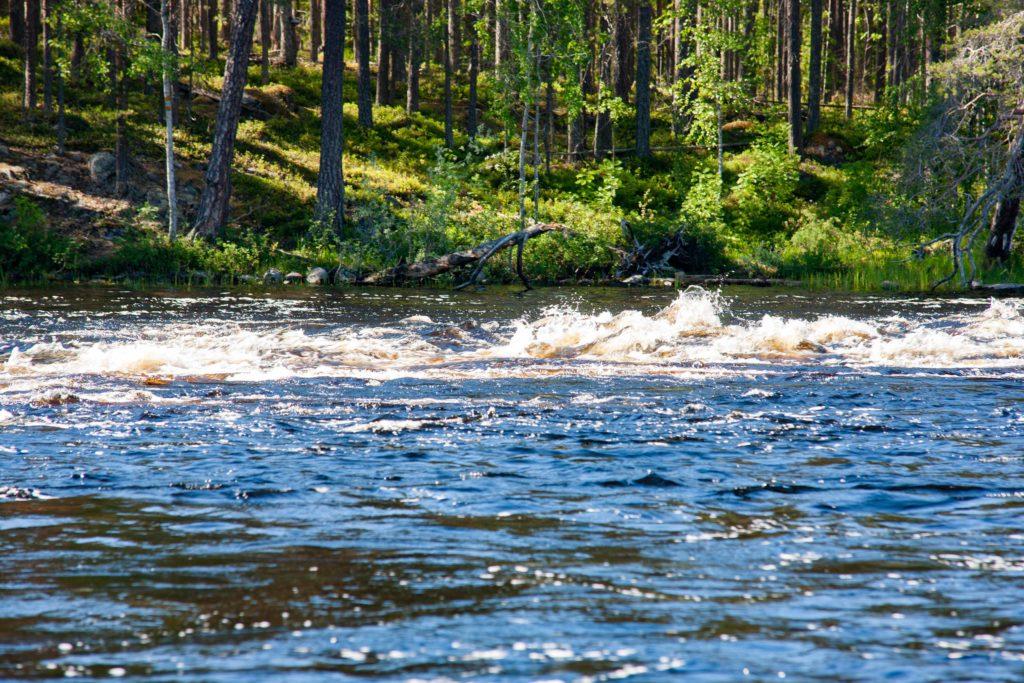 Ruunaan retkeilykeskus Kattilakoski - kalastuskäppä