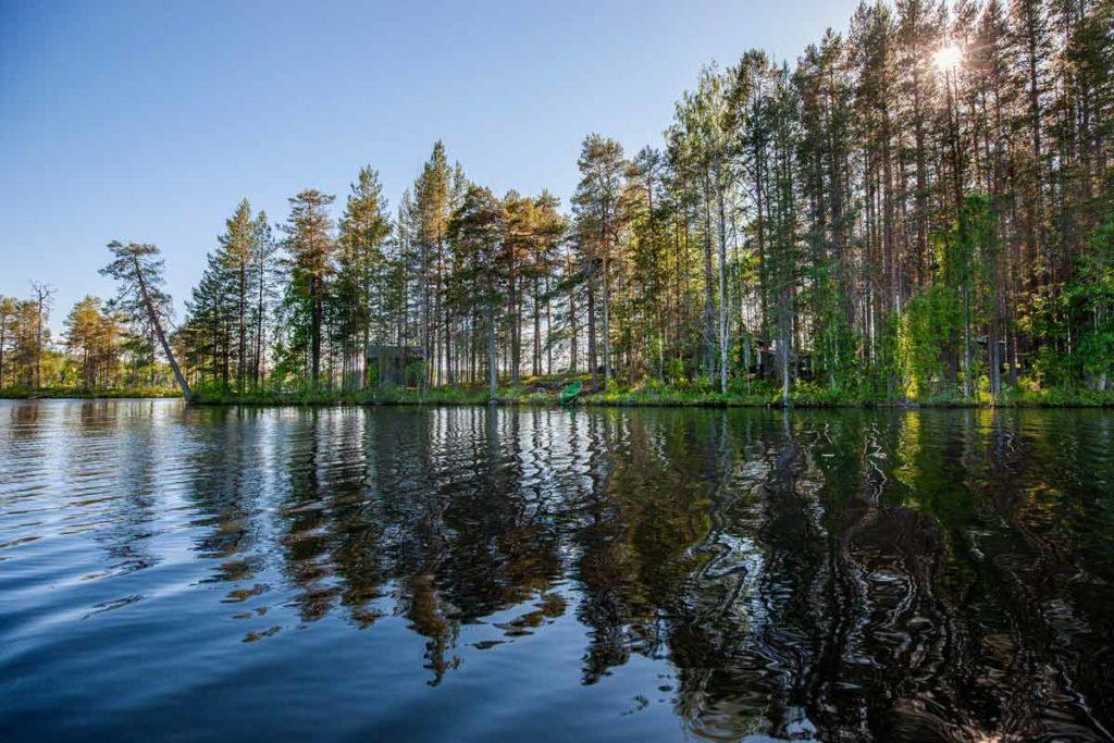 Ruunaan retkeilykeskus Neitiniemi - kalastus