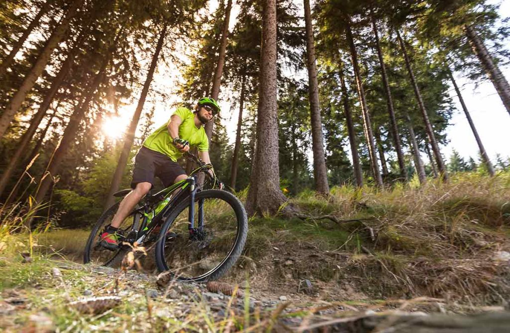 Ruunaan retkeilykeskus kesä aktiviteetit pyöräily