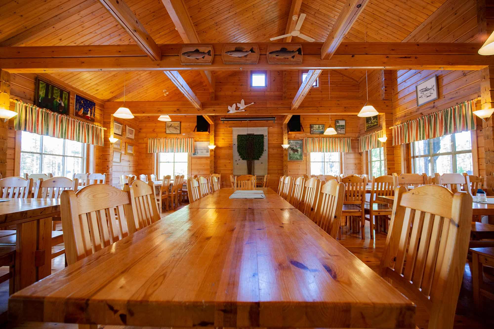 Ruunaan retkeilykeskus ravintola, a-oikeudet