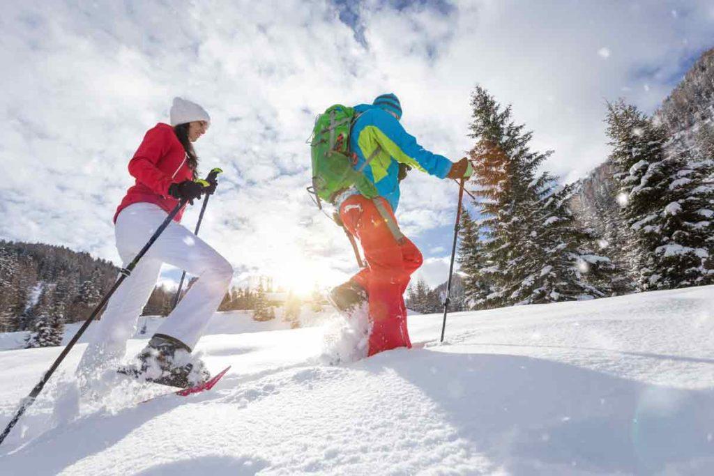 Ruunaan retkeilykeskus talvi aktiviteetit lumikenkäily